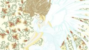Верданди, Ah! My Goddess!, ангел, Belldandy, Моя богиня!, крылья
