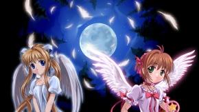 Аниме Moonknives, Сакура - собирательница карт, Card Captor Sakura, Air, Kinomoto Sakura, Высь, Сакура Киномото
