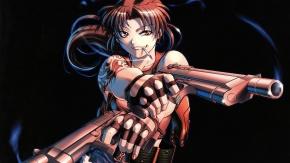 Реви, ну прямо брутальная девушка с пистолетами