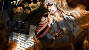 Аниме Балалайка, Пираты «Черной лагуны», Balalaika, курение