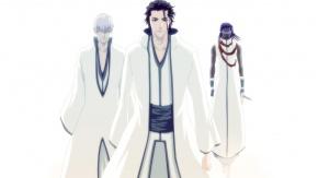 Ichimaru Gin, Aizen Sousuke, Bleach, Айдзэн Соске, Гин Ичимару, Блич, Тоусен Канамэ