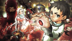 Аниме Ганта Игараси, Страна чудес смертников, Shiro, Red Man