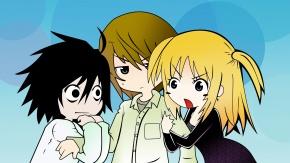 Аниме Yagami Light, Лайт Ягами, Эль, Тетрадь Смерти, Миса Аманэ, L, Death Note, Amane Misa