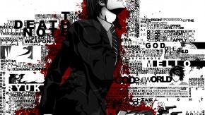 Аниме Кровь, Тетрадь Смерти, многокрасочный, Yagami Light, Рюк