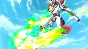 Аниме Вокалоид, Nirvash, Koukyoushi Hen: Eureka Seven, небо, облака