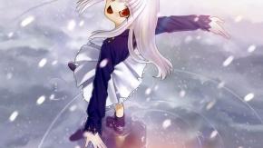 Type-moon, снег, Illyasviel von Einzbern, Судьба: Ночь Схватки, вода, Fate/Stay Night