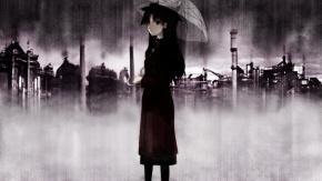Fate/Stay Night, зонтик, Tohsaka Rin, Рин Тосака, Судьба: Ночь Схватки