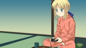 Судьба: Ночь Схватки, Fate/Stay Night, мечник Сэйбер, Сейба
