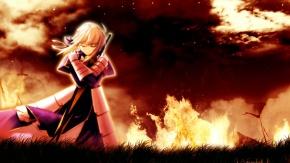 Девушка в пламени.