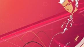 Лучник Арчер, Fate/Stay Night, Судьба: Ночь Схватки, Archer, красный