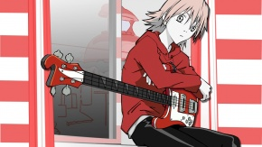 Аниме Фури-кури, Харуко Харухара, гитара, Furi Kuri, Haruhara Haruko