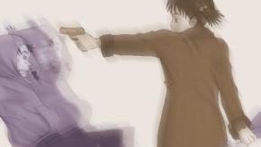 Nandaba Naota, пистолет, Furi Kuri, Фури-кури, Ninamori Eri, Наота Нандаба, оружие, Эри Нинамори