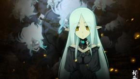 Эльфийка из игры Full Metal Daemon: Muramasa