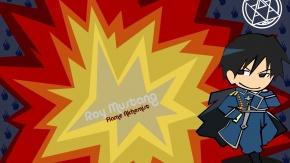Рой Мустанг, униформа, Стальной алхимик, Fullmetal Alchemist, Roy Mustang