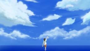 Аниме Небо, живописный, Унесённые призраками, ponytail, Гибли, короткие волосы, Ogino Chihiro, вода