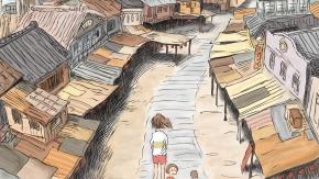 Аниме Spirited Away, Тихиро Огино, Ogino Chihiro, Ghibli, Гибли