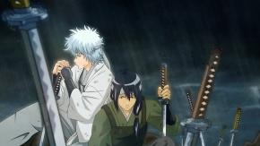 Аниме Гинтама, Гинтоки Саката, оружие, Sakata Gintoki