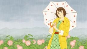 Нода Мегуми с зонтиком. Аниме Нодамэ Кантабиле