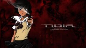 Аниме Короткие волосы, Yuumura Kirika, Нуар, Noir, карие глаза, оружие, черные волосы, пистолет