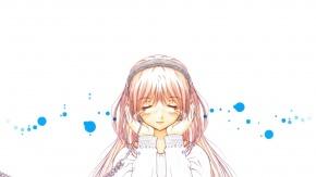 Аниме Мидзухо Кадзами, Пожалуйста! Учитель, Kazami Mizuho, наушники, Onegai Teacher, белый