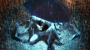 Перень под зонтиком