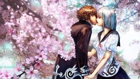 Поцелуй под сакурой