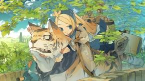 Тигр и девочка