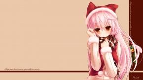 Уши животных, девушка-кошка, розовые волосы