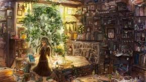 Аниме Уютная комната