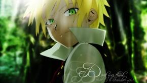 Зеленоглазый блондин