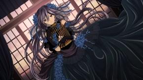 Алиса в красивом чёрном платье