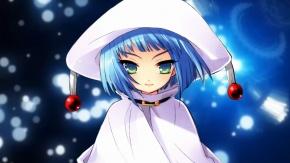 Синеволосая девочка