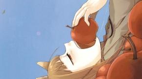 Аниме Холо, девушка-лисичка, длинные волосы, уши животных