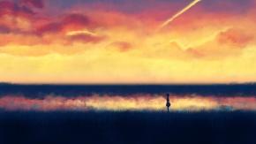 Девочка покорившая время на горизонте