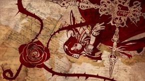 Аниме Эстер Бланшетт, цветы, роза
