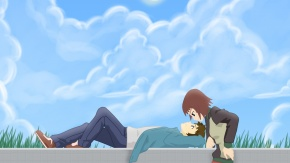 Ando Aiko, Настоящие слезы, Синъитиро Накагами, Nakagami Shinichiro, Аико Андо, True Tears