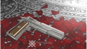 Аниме Пистолет, Рыцарь-вампир, оружие
