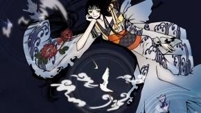 Аниме XXXHOLiC, Ichihara Yuuko, Clamp, Кламп, японская одежда, кимоно, Ичихара Юко, Триплексоголик